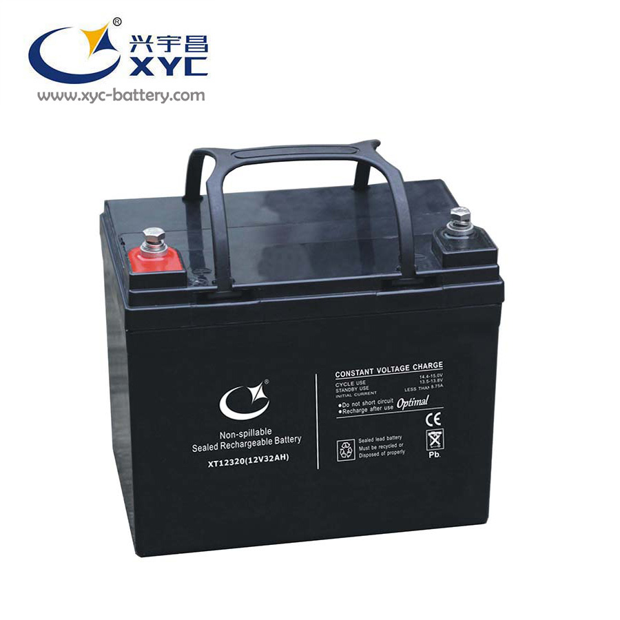 Large power maintenance free VRLA battery for UPS solar energy 12V 32AH 33AH