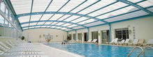 4x8 FRP Clear Well Lighting ceiling panels sheeting