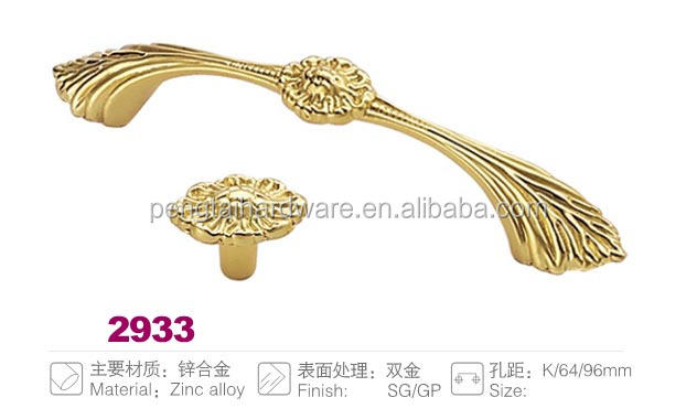Zinc alloy diecast Gold Imitated Handle