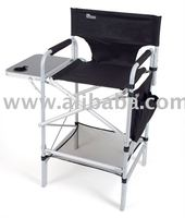 EARTH EXECUTIVE VIP TALL DIRECTORS CHAIR w/ SIDE TABLE & SIDE POCKET