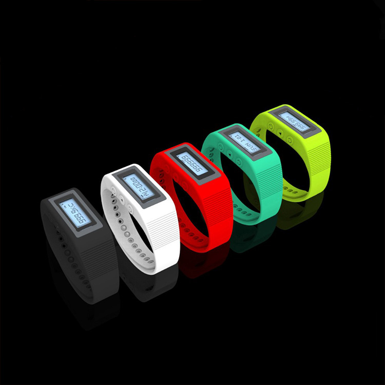 Multi function Smart sport wristwatch,activity wristband 3D pedometer with personalized parameter settings