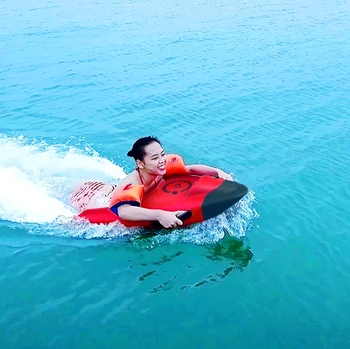 ready for ship FZblue YAMAHA Engine electric surf float electric hydrofoil surfboard jet sea scooter for sale