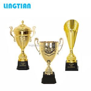 LINGTIAN Crafts Cheap Custom Trophy Cup Award / Wholesale Trophy