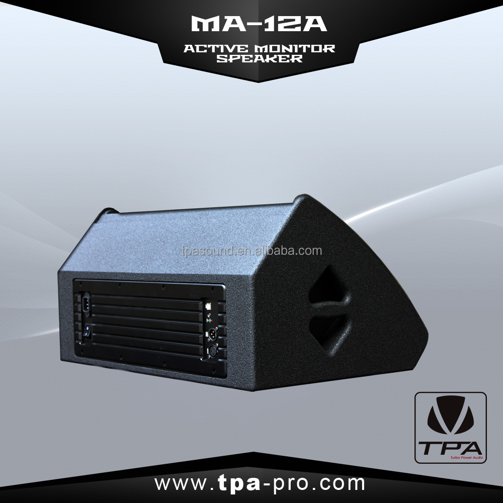 TPA MA-12A active stage monitor speaker/professional monitor speaker