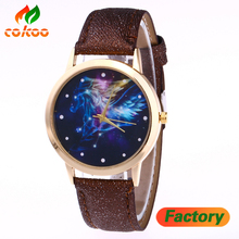 Fashion star watch fashion ladies watch flash gold strap ladies leisure belt table quartz watch spot wholesale