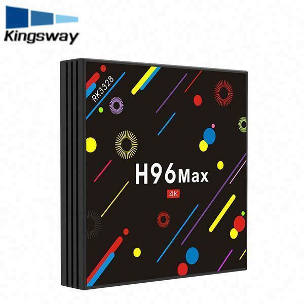 Regalo di natale 4G + 32G Android 7.1 tv box RK3328 gratuito a vita iptv abbonamento 4 k player WIFI Airplay iptv set top box H96 Max