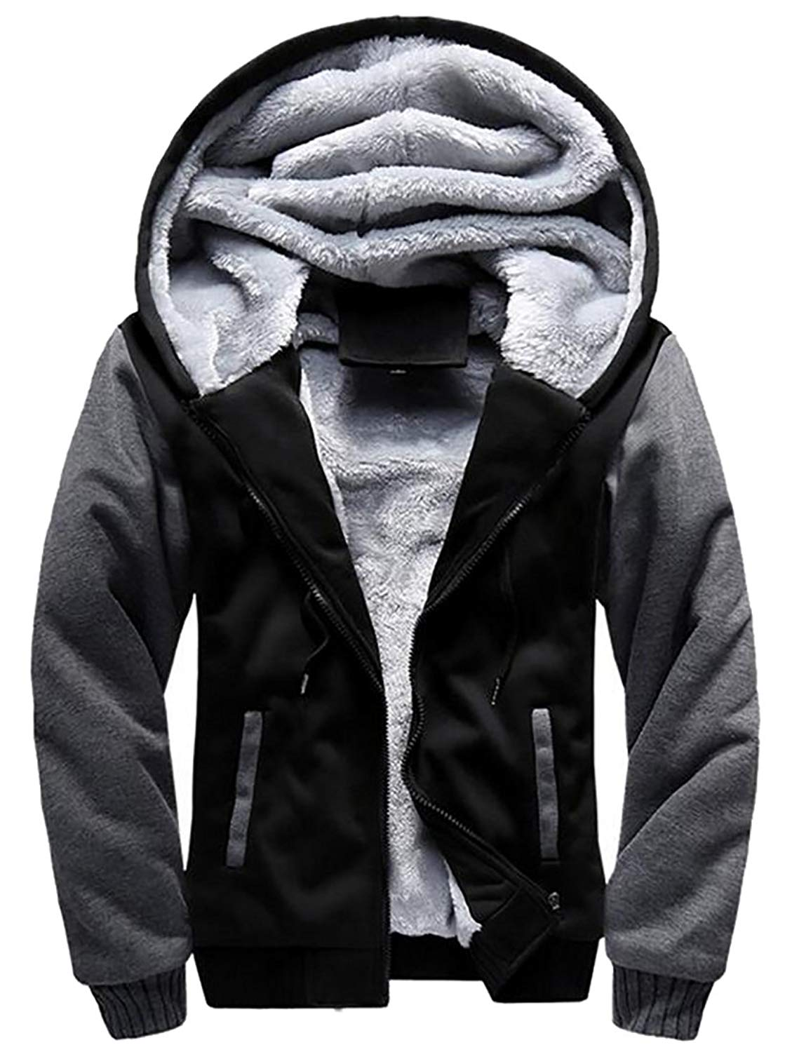 Cromoncent Womens Winter Thicken Sparkle Quilted Hooded Down Parka Coat