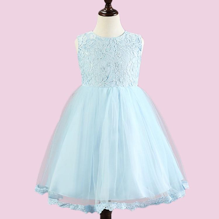 Venta al por mayor vestidos largos sencillos y elegantes para niñas ...