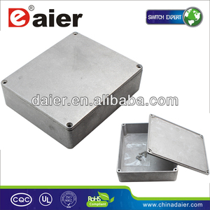 1590XX aluminum guitar pedal box enclosure