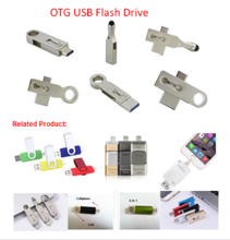 3 In 1 Otg USB Flash Drive for Iphone Android Computer 32GB 64GB USB 3.0 With Custom Logo