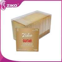 Clear Nylon Strings Silver Plated Copper Alloy Wound Normal Tension classical guitar strings
