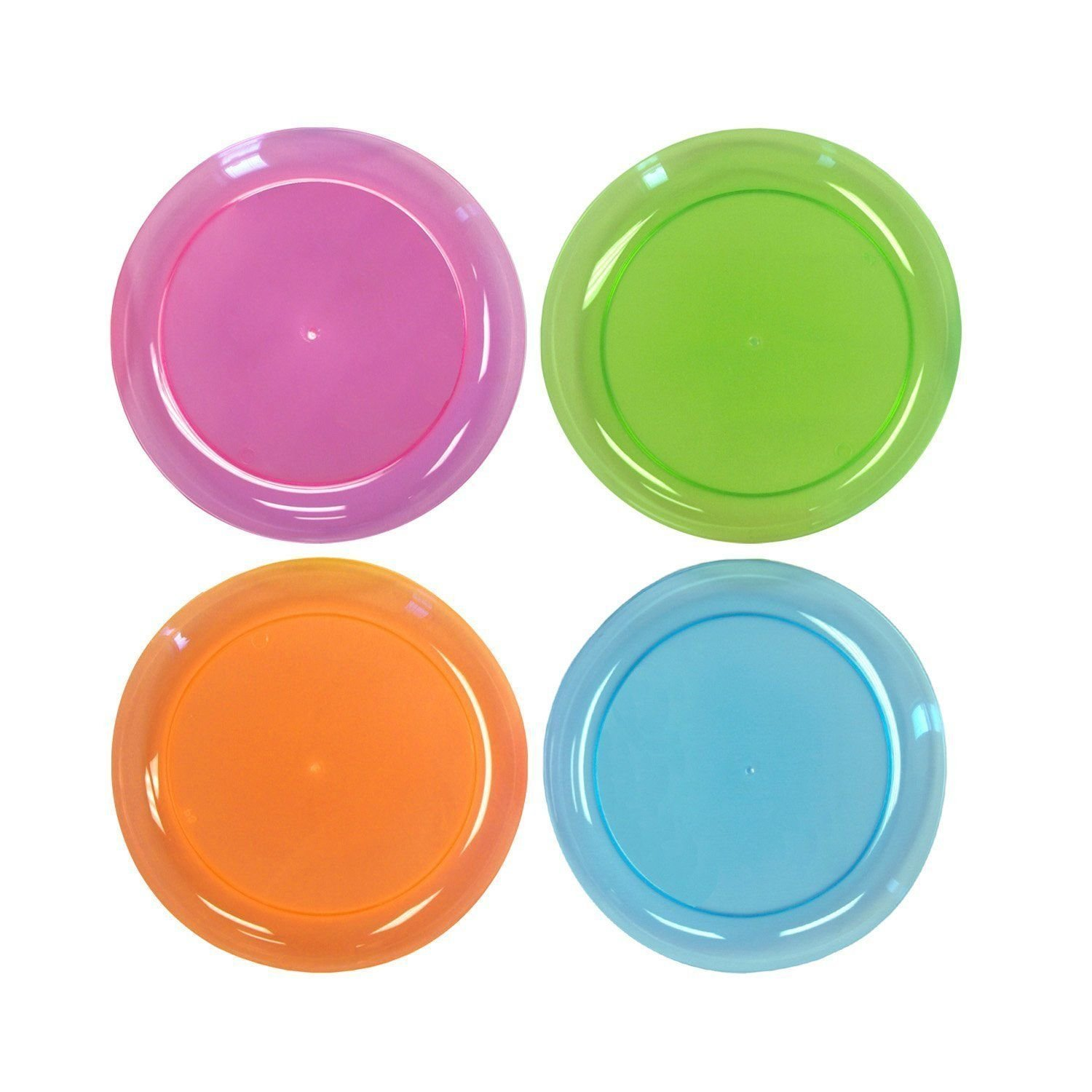 Get Quotations · Party Essentials Hard Plastic 9inch Round Party/luncheon Plates; Assorted Neon;  sc 1 st  Alibaba & Cheap Hard Plastic Plates find Hard Plastic Plates deals on line at ...
