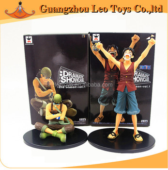 Wholesale One Piece Anime Figures A Set Of Sanji And Nami DS Dramatic Showcase Action Figures Japanese Anime Figures