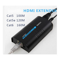 100M HDMI Extender over LAN Routers/Switchers Ethernet Network RJ45 CAT5 CAT6