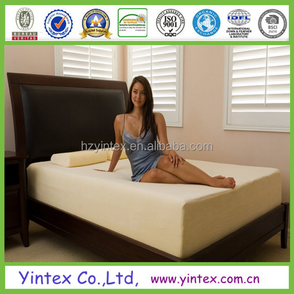 Wholesale 5 Star Hotel Royal Super King Size Soft 4 Inch Bamboo Cover Somnia Luxury Memory Foam Mattress Factory