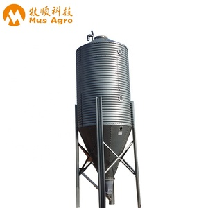 Galvanized steel 10 ton grain storage silos prices