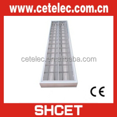 SHCET CET-236/C 2X36W Grid Lamp T8 Fluorescent Light Fixture