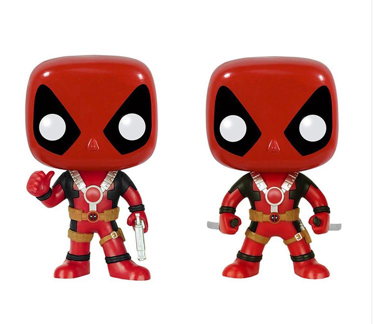 Custom Make Your Own Movie Character Plastic Deadpool Funko Pop ...
