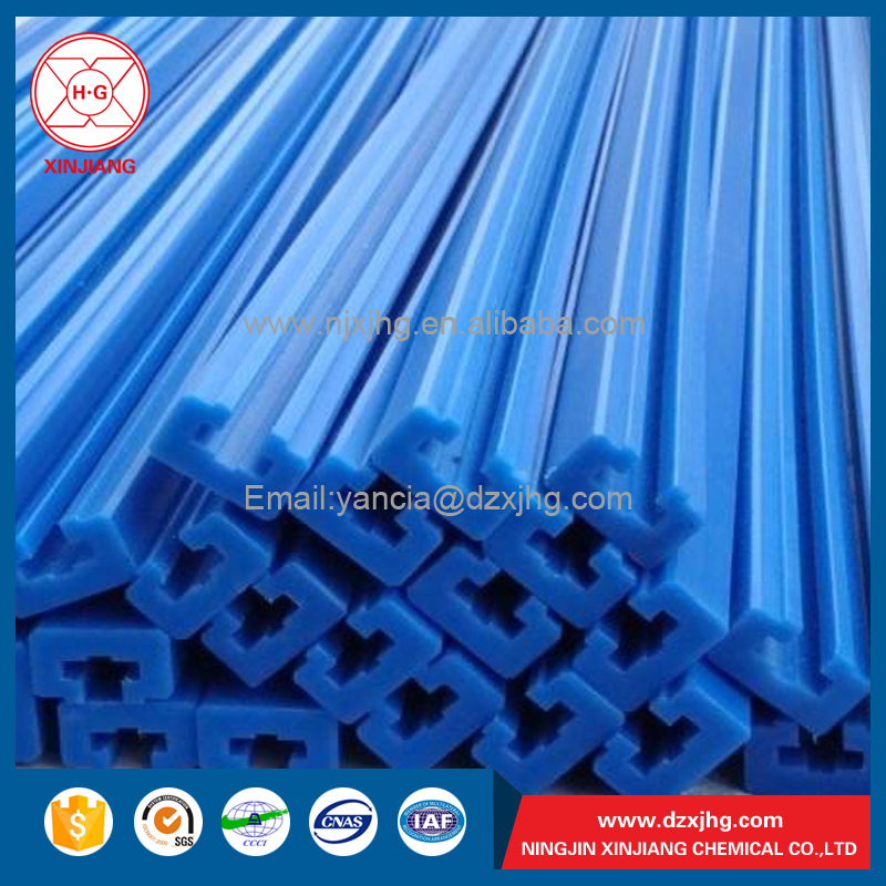 high performance hard plastic color guide rail