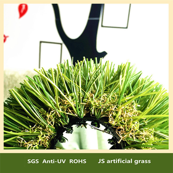 Green backing synthetic roof thatching artificial grass canada