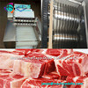 fresh beef meat cutting machine/poultry meat bone cutter/pork chop cutting machine