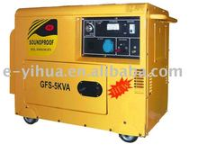 portable small power diesel generator set