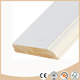 Primed wooden skirting trim board moulding