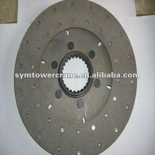 tower crane hoist brake lining disc for 70RCS