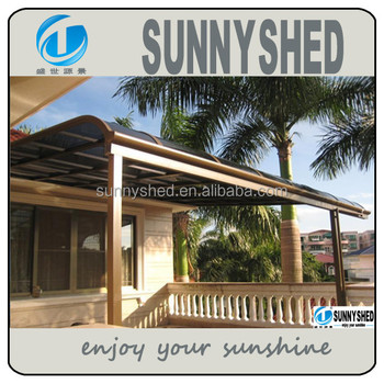 Terrace Awnings With Polycarbonate Roof New Style