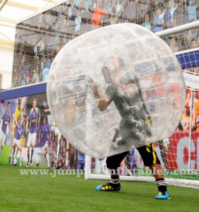 cheap Adult Soccer Bubble Body Ball 1.5m PVC Football Bubbles for sale