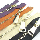 Shenzhen Brass Teeth No.7 Metal Zipper Manufacturer