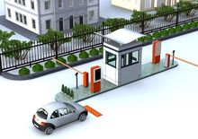 Automatic security car parking lot system with RFID card system