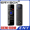 6-Axis Gyro Smart Remote control 2.4g Wireless Air Mouse C2 mini keyboard for android tv box