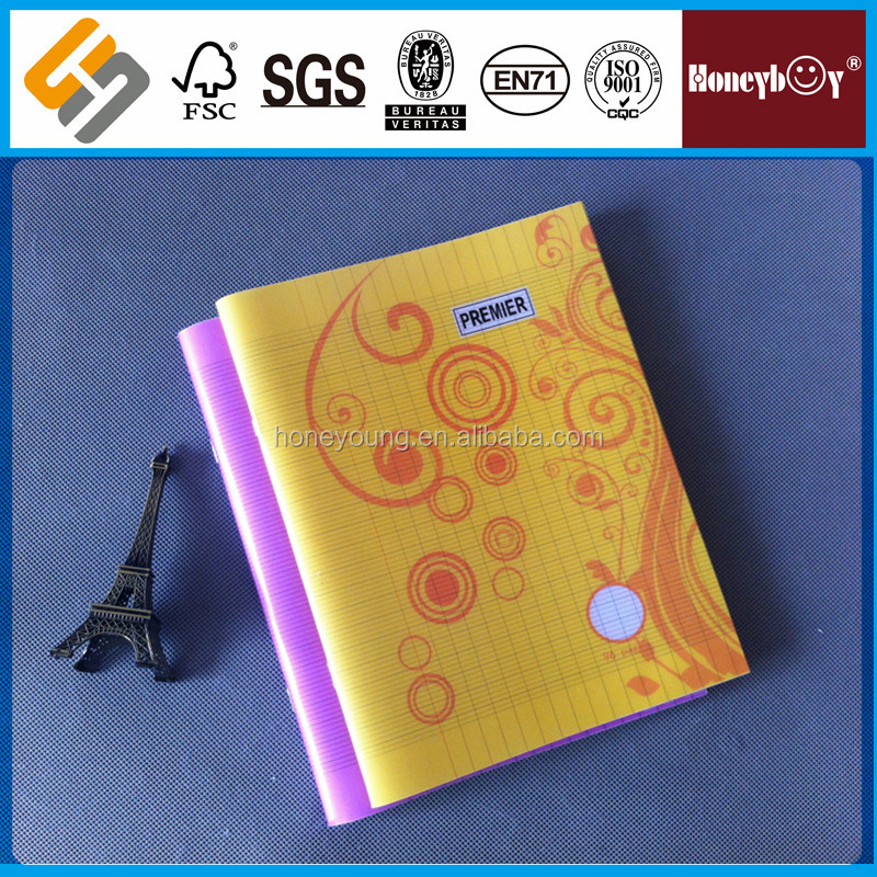 4 color good quality africa stationery school denim cover notebook