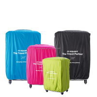 black, pink, green , blue colors air plane luggage box covers, protective layers wears for your travel box