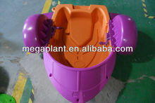 2012 funny water park hard plastic boat