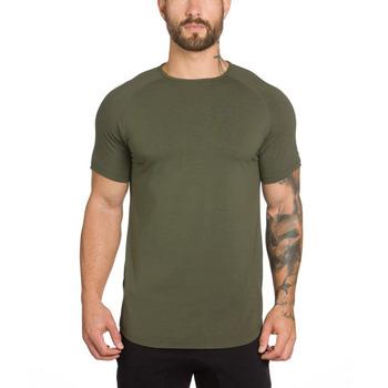 2017 fashion custom mens short sleeve t shirt gym t shirt for Make your own gym shirt