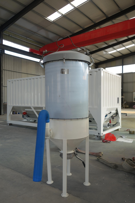 Cement Bin Container Cement Silo Portable Automatic Sperm Collector
