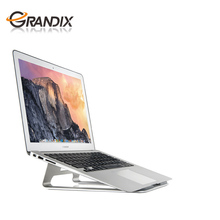 Portable Gold/Silver Laptop Cooling Holder Stand With Aluminum Alloy Fit For 11-15'' Laptop computer