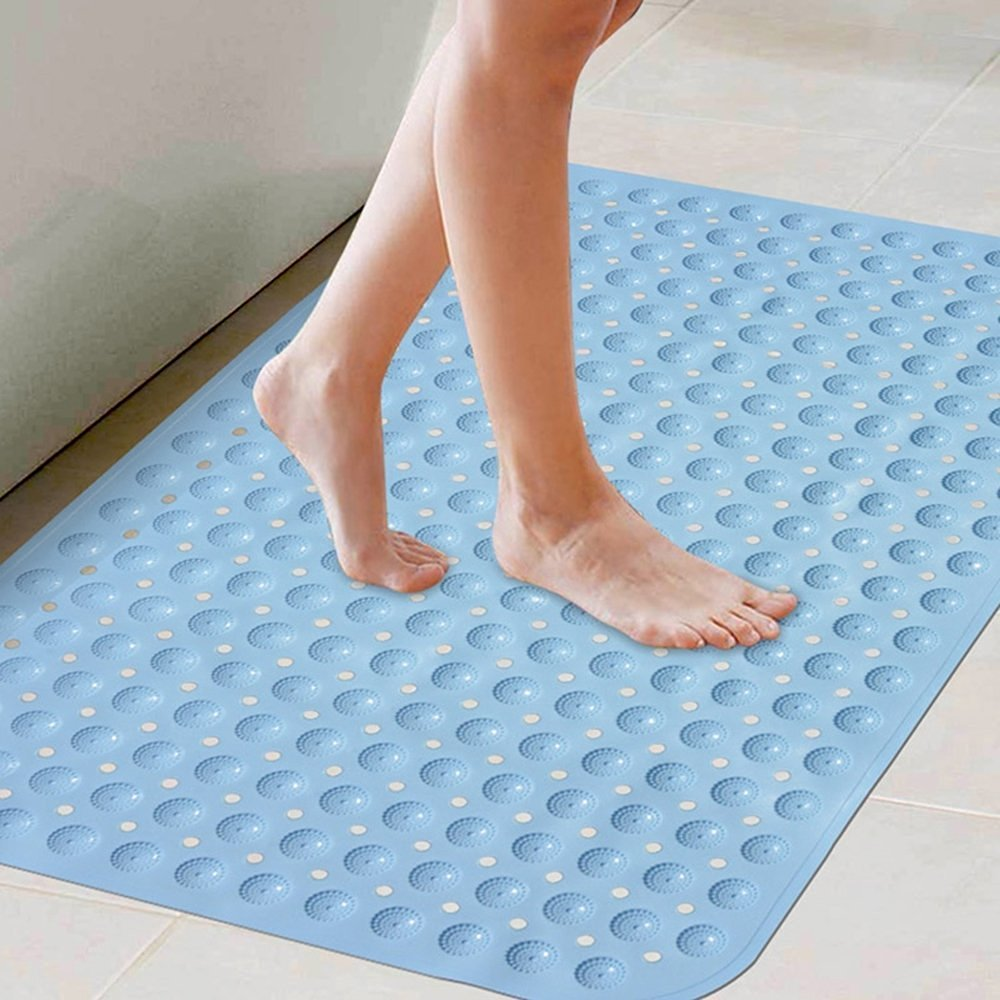 Gentil Get Quotations · Anti Slip Suction Bath Mat, Glodeals Extra Large Non Slip  Mats For Tub U0026 Shower