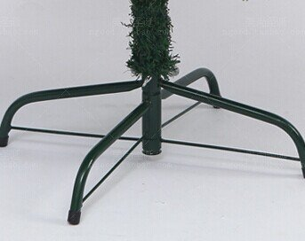 Lecent@ Folding Artificial Christmas Tree Stand Tree Genie for 3.6-Feet to 5.4-Feet Trees,Green (11.8-inch)