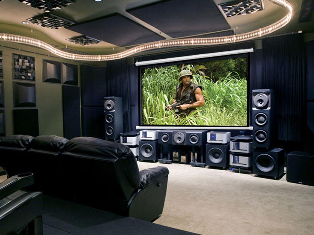 120 pulgadas motorizada el ctrica pantalla del proyector for Pantalla proyector electrica