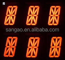 M word 7 segment led display Customized Outdoor Gasoline Price LED Sign 8'' Display/7 Segment Gas Price Sign