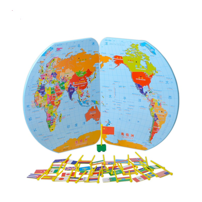 World map toy children awareness national flags three dimensional world map toy children awareness national flags three dimensional puzzle educational toys gumiabroncs Images
