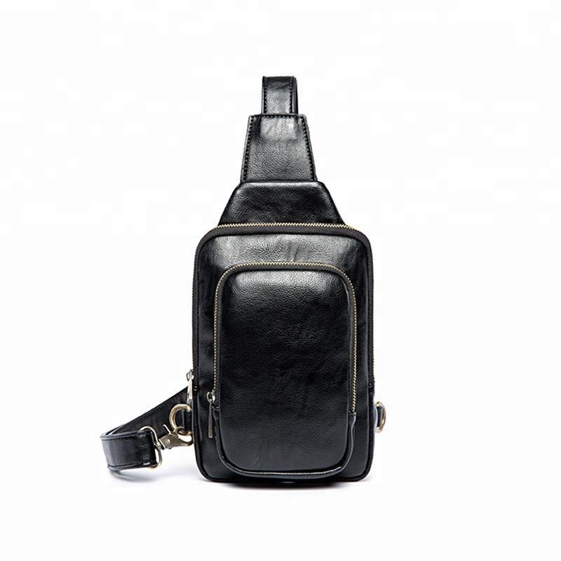 High Quality Wholesale Custom PU Leather Waist Bag Fanny Packs Bum Bag