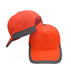 fluorescence color 5 panel mesh cap with reflective band