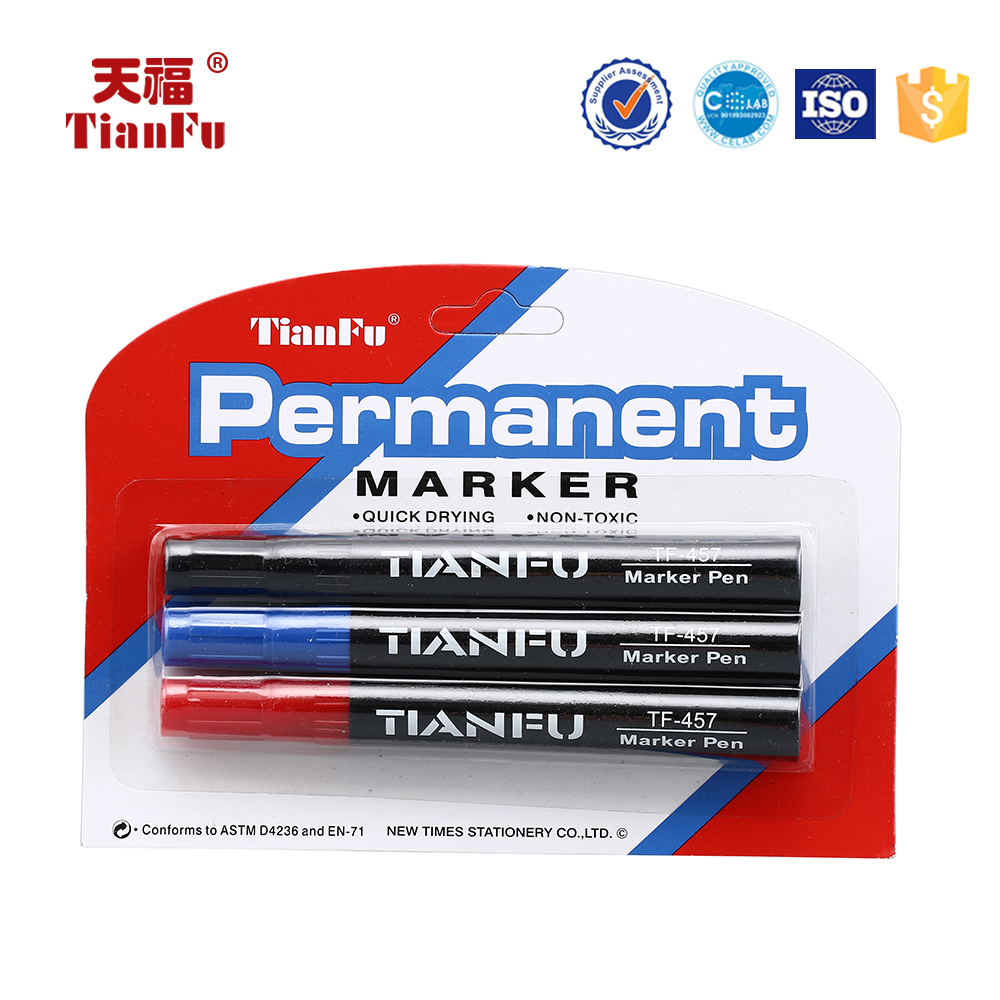 P-457 Marker Type Alcohol Based Ink Non-Toxic Permanent Marker