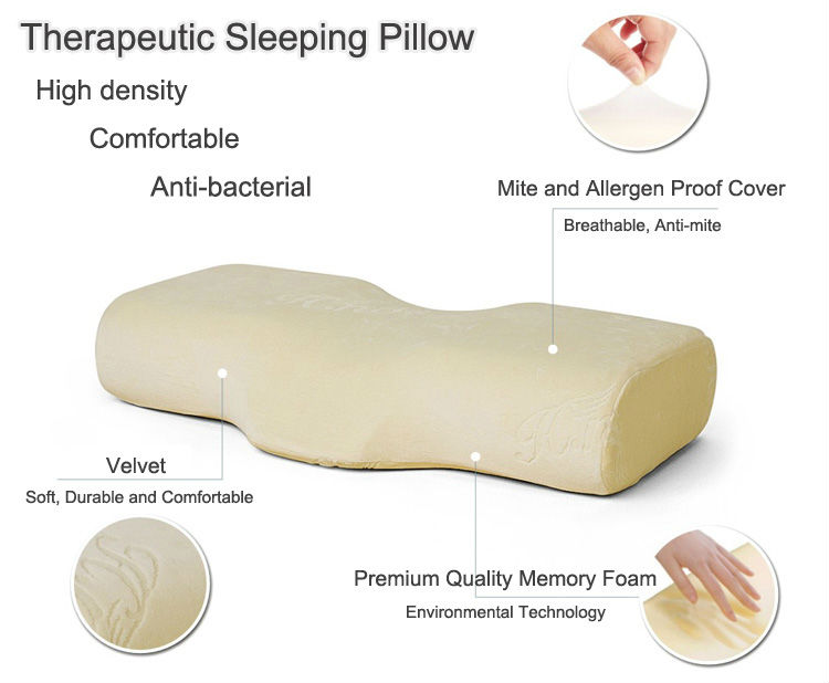 New Design Pink Eyelash Extension Memory Foam Lash Pillow Eyelash Pillow Bed Pillows For Cervical Spondylosis