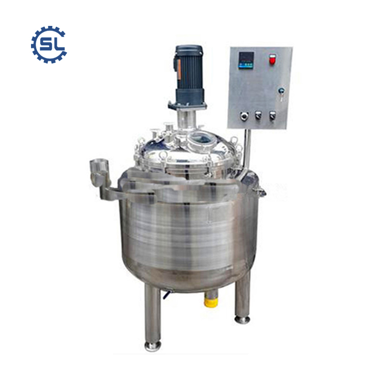 automatic liquid emulsifier for liquid soap/shampoo/laundry liquid process