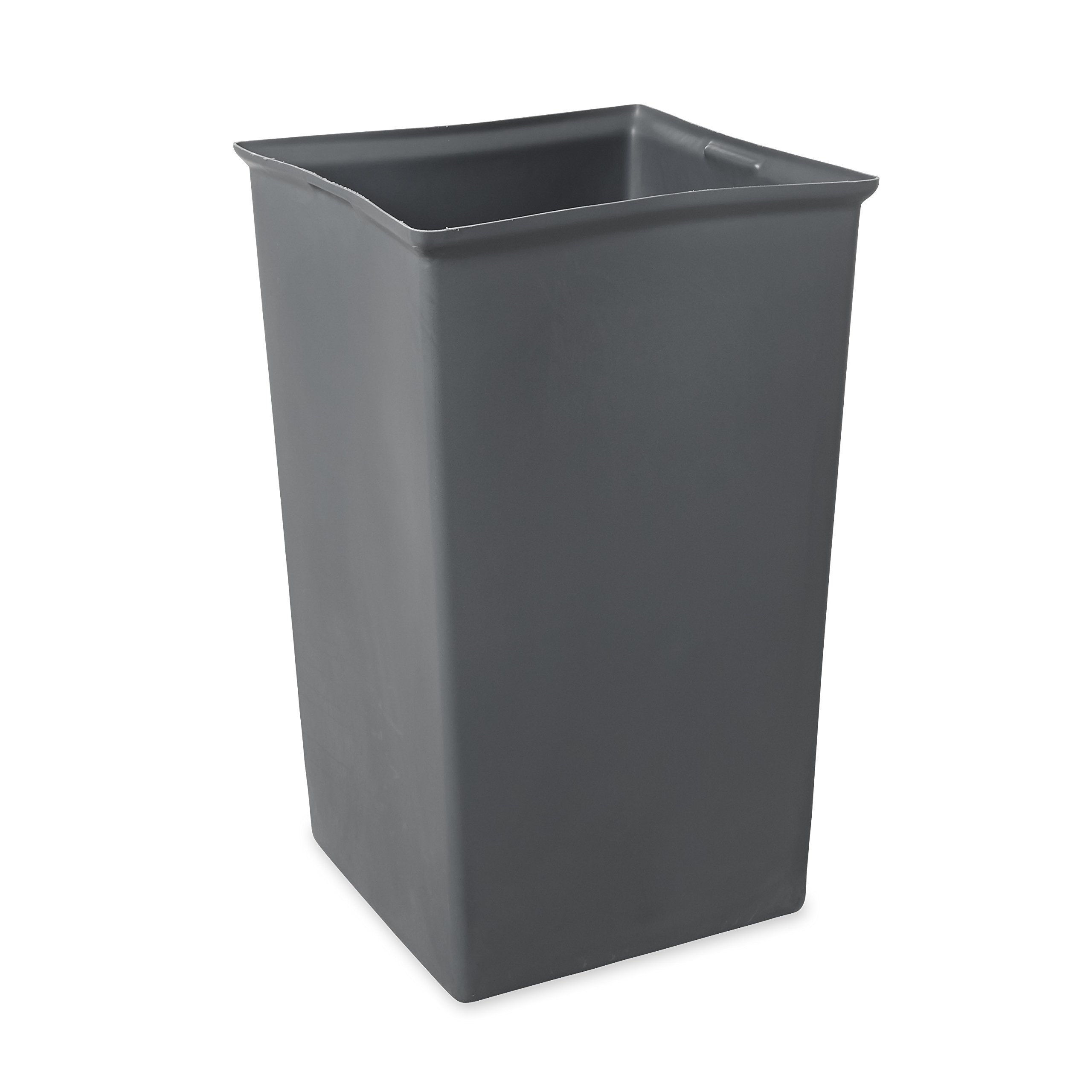 Get Quotations · Rubbermaid Commercial Rigid Trash Can Liner, Square,  35 1/2 Gallon,